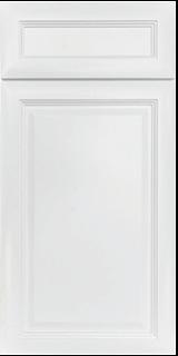 Designer Madison white raised panel